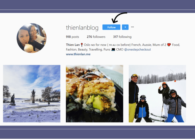 TL blog instagram