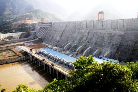 Thủy điện Sơn La hòa lưới sớm hơn kế hoạch 3 năm (Ảnh: Kiên Trung)