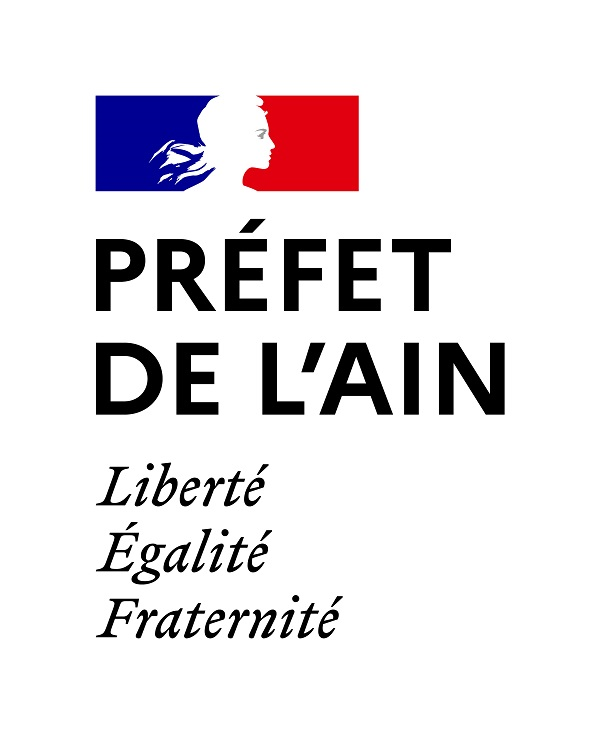 Logo de la préfecture de l'Ain