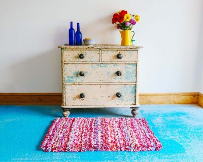 Make a rag rug and save 20 t-shirts from landfill