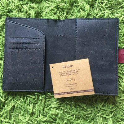 Gorgeous vegan passport cover from Arture
