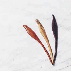 Meet: SAYA Designs and their handcrafted hair sticks | Thimble End