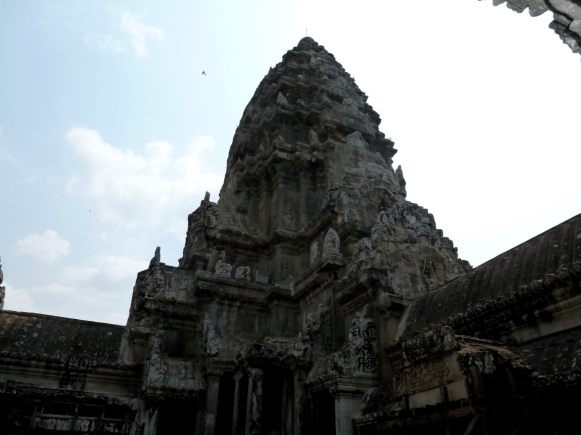 One of Angkor Wat's many towers.