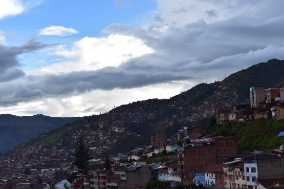 Afternoon over one of Cusco's hillside neighborhoods.