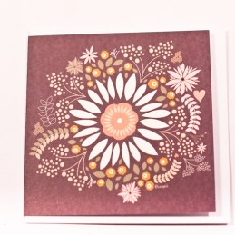 Brown-Gift-Card-With-White-And-Yellow-Flower-Leaf-And-Heart-Pictures1