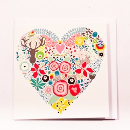 White-Gift-Card-With-Multicoloured-Flower-Leaf-Heart-And-Dear-Pictured-Heart1