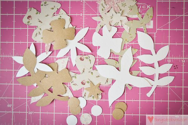 paper flower letters-2