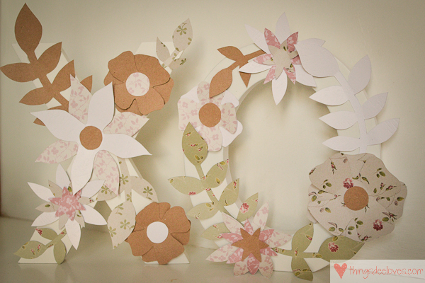 paper flower letters-8
