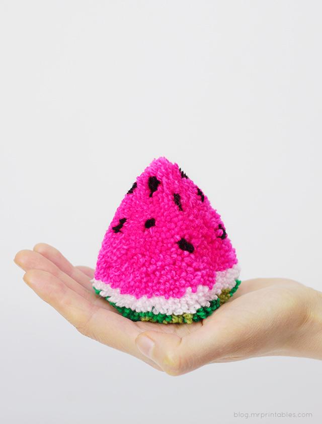 watermelon-pompom