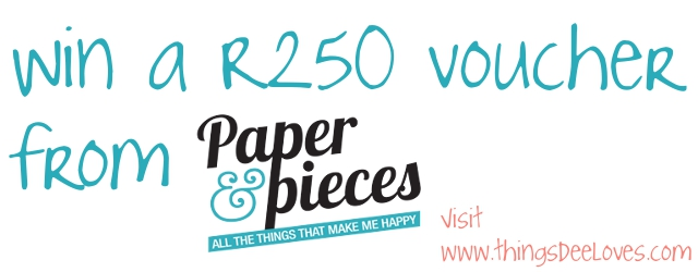 paper & pieces giveaway