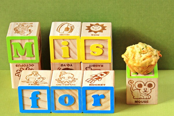 M is for muffin