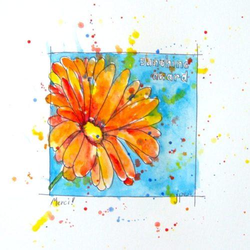 Sunshine Award by Jennifer Edwards