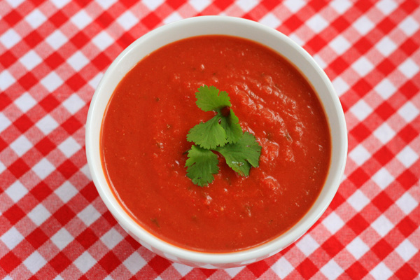 Chilled Capsicum Soup
