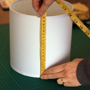 Recovering a Lamp Shade