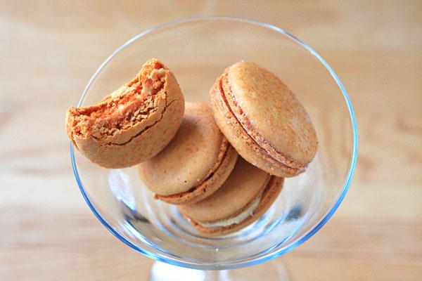 Zumbo Salted Caramel Macarons