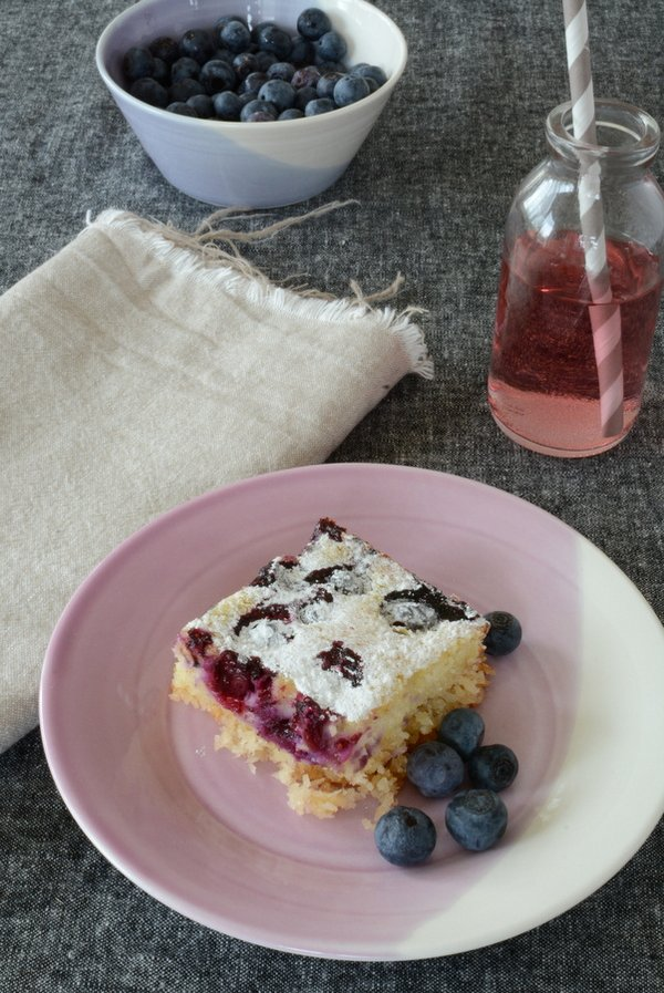 Coconut, Lime and Blueberry Slice 3