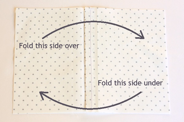 3 - turned lapped seam