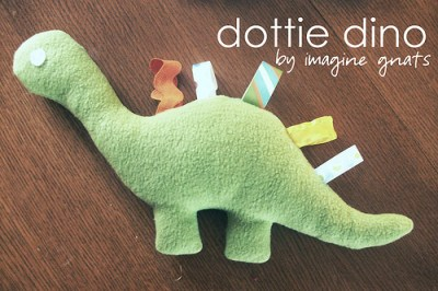 Dinosaur Taggie
