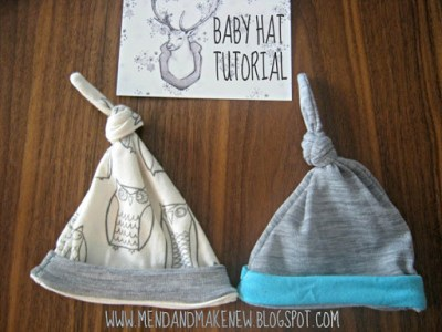 Top Knot Baby Hat