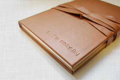 Leather Covered Journal