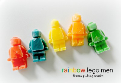 Lego Frozen Pudding Snacks