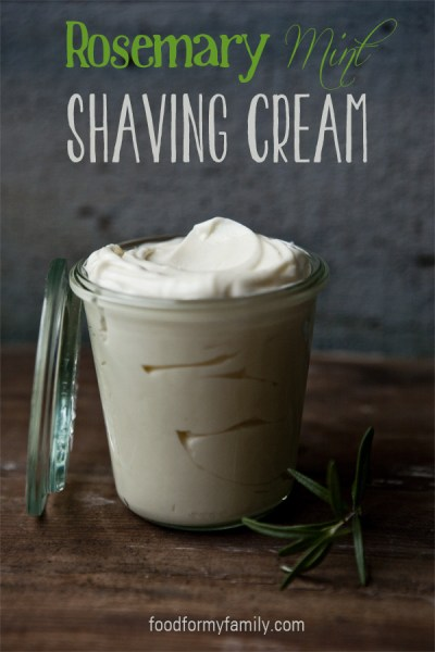 Rosemary Mint Shaving Crea