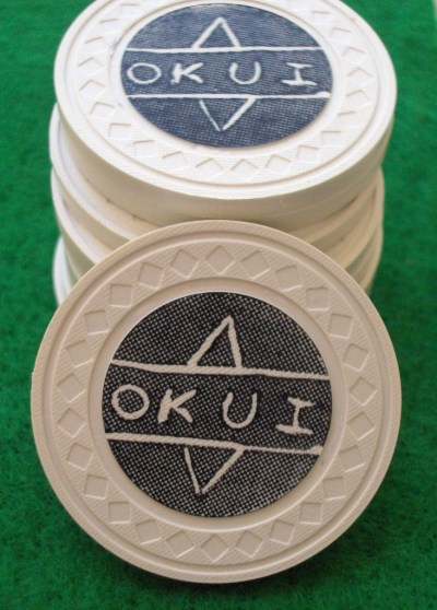 Personalised Poker Chips