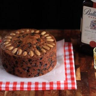 Edible Gifts for Men: Fruit Cake