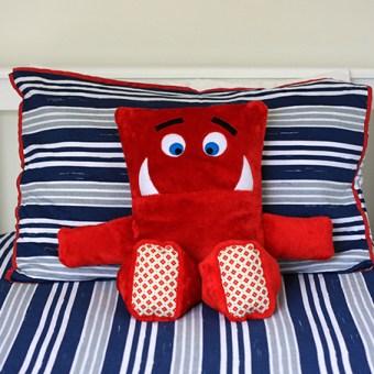 Pyjama Eating Monster Cushion