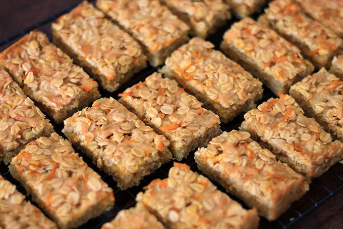 Gluten Free - Savoury Flapjacks