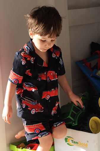 Firetruck Pyjamas