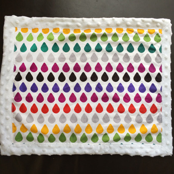 step 22 minky blanket