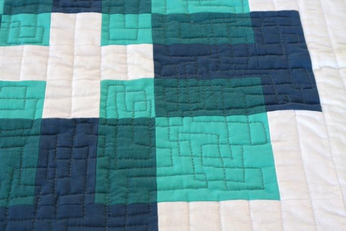 Two-Tone Luminous Quilt