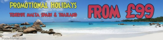 Promotional holidays