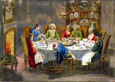 Pesach supper