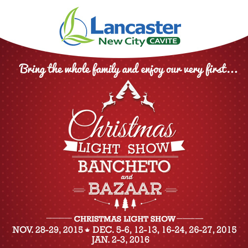 A Happy Christmas with Your Families and Friends - Lancaster New City Cavite