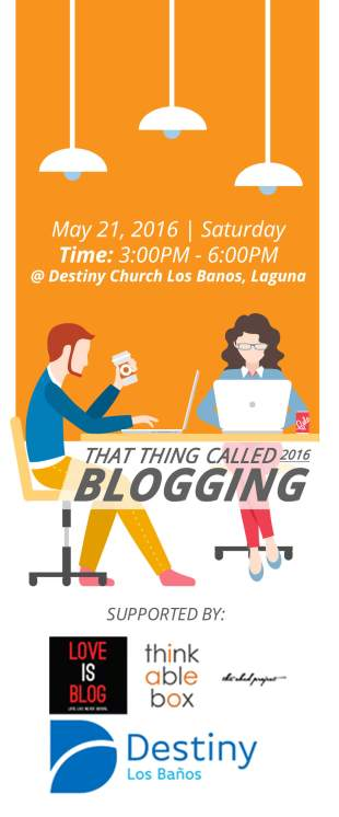 That Thing Called Blogging
