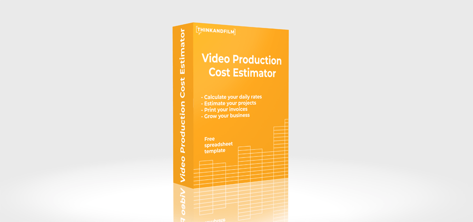 Video production cost estimation spreadsheet template