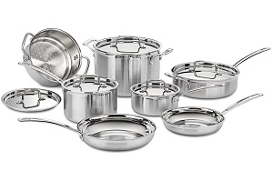 Top Rated Induction Cookware Set - Cuisinart MCP-12N