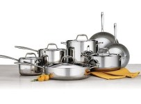 Tramontina 12-piece Tri-ply Clad Stainless Steel