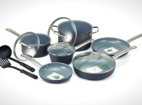 GreenLife Gourmet Healthy Ceramic Cookware Set 12-piece