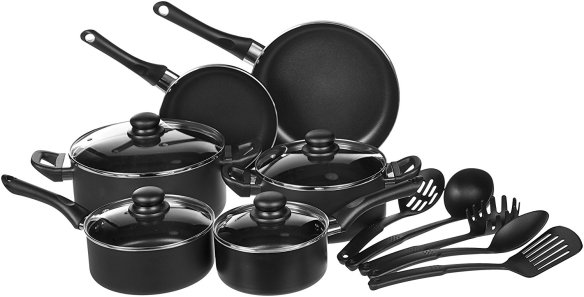 039467f2e145 Here are the details on the 15-piece set: Nonstick ...