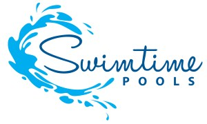 Swimtime Pools Logo Design