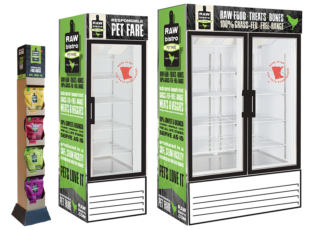 Metalfrio 238 368 768 Upright Freezer Graphics
