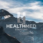 HealthMed Staffing Stacked logo