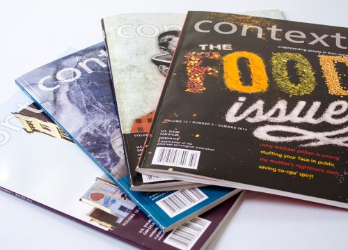 Contexts Magazine covers