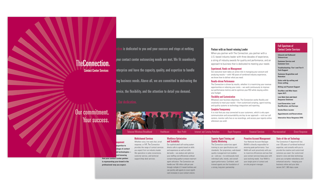 the connection brochure