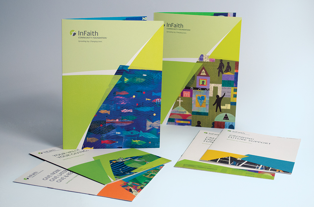 InFaith folder designs