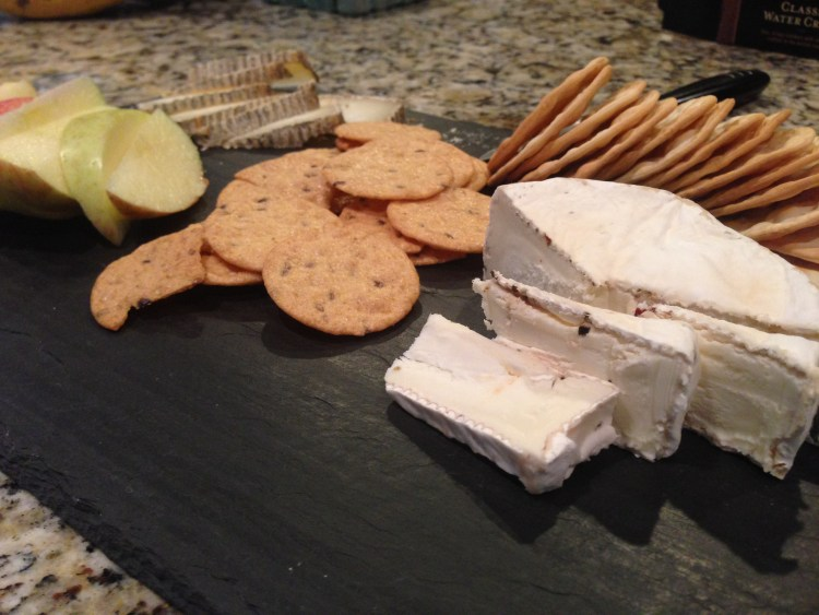 5 minute cheese plate