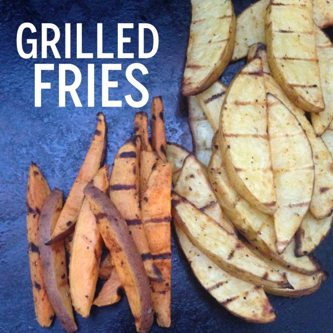 grilled fries
